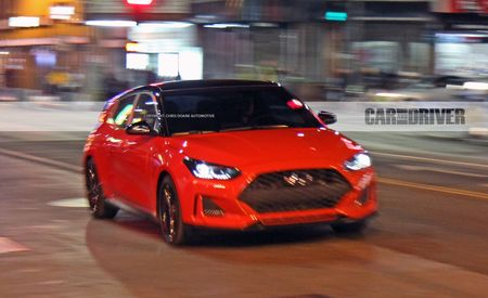 2019 Hyundai Veloster Turbo Spied Completely Camo-Free
