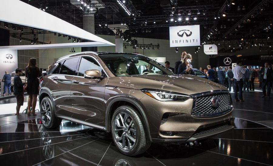 Infiniti QX AllNew Compact Luxury Crossover Boasts Radical - Infiniti car show