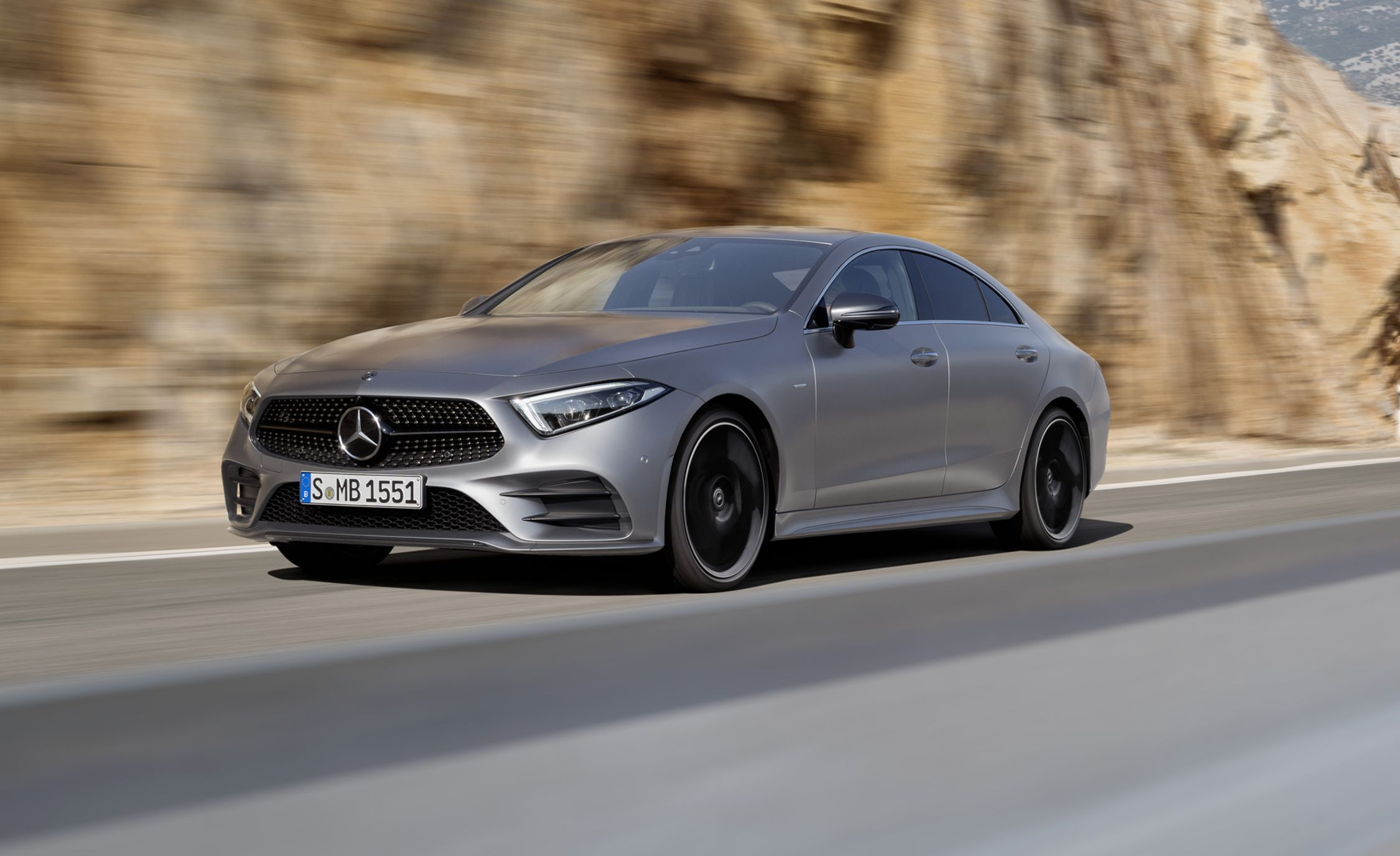 2019 mercedes benz cls class pretty again plus an inline six news car and driver. Black Bedroom Furniture Sets. Home Design Ideas
