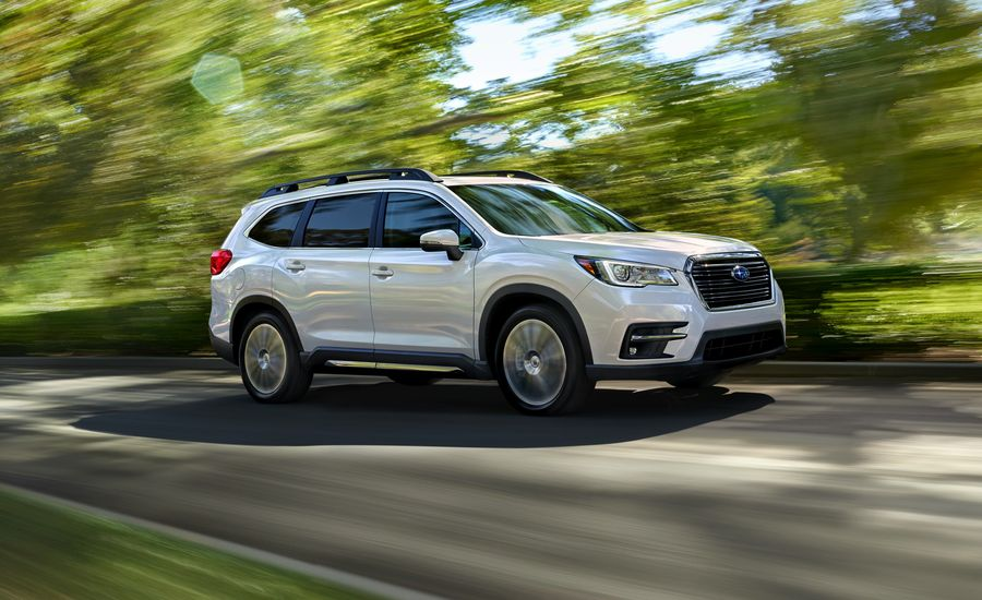 subaru ascent official   info news car  driver