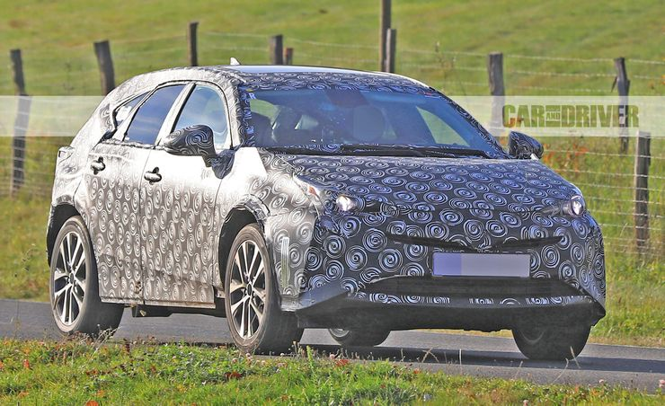 2019 Toyota Prius V Spied Looking Actually Handsome