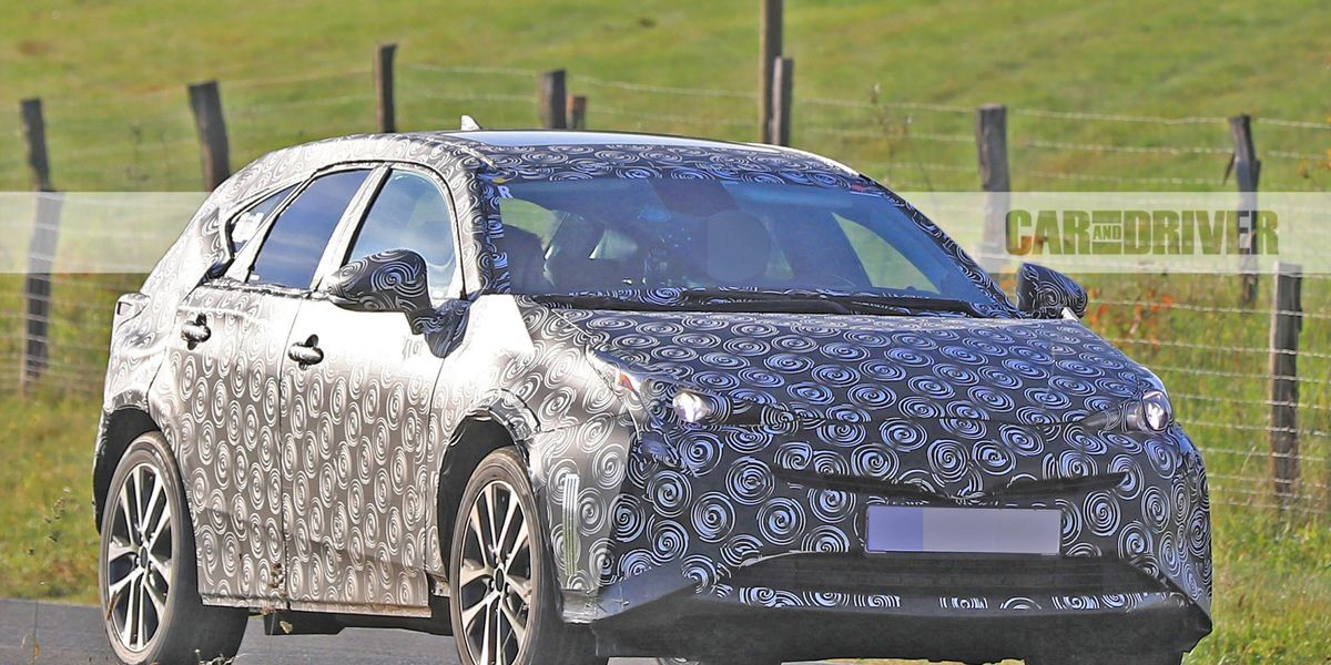 2019 Toyota Prius V Spy Photos News Car And Driver