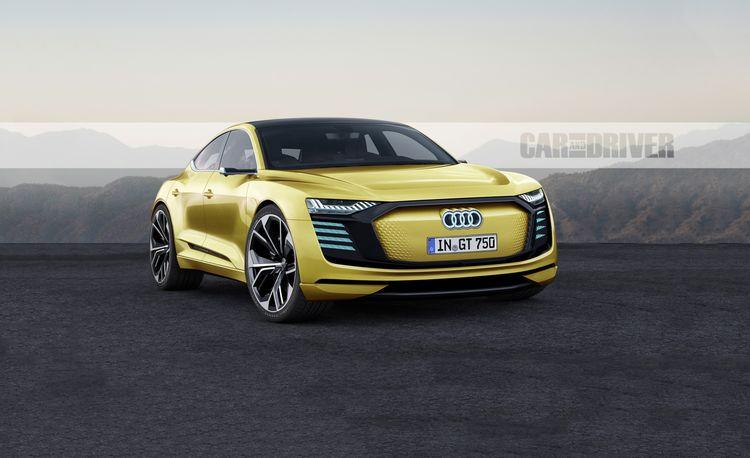 2021 Audi e-tron GT: The Porsche-Based Audi EV Sports Car