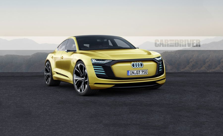 2021 Audi e-tron GT: The Porsche-Based Audi EV Sports Car