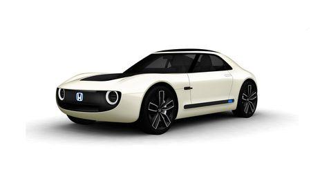 Honda Sports EV Concept: Retro-Electric Futurism