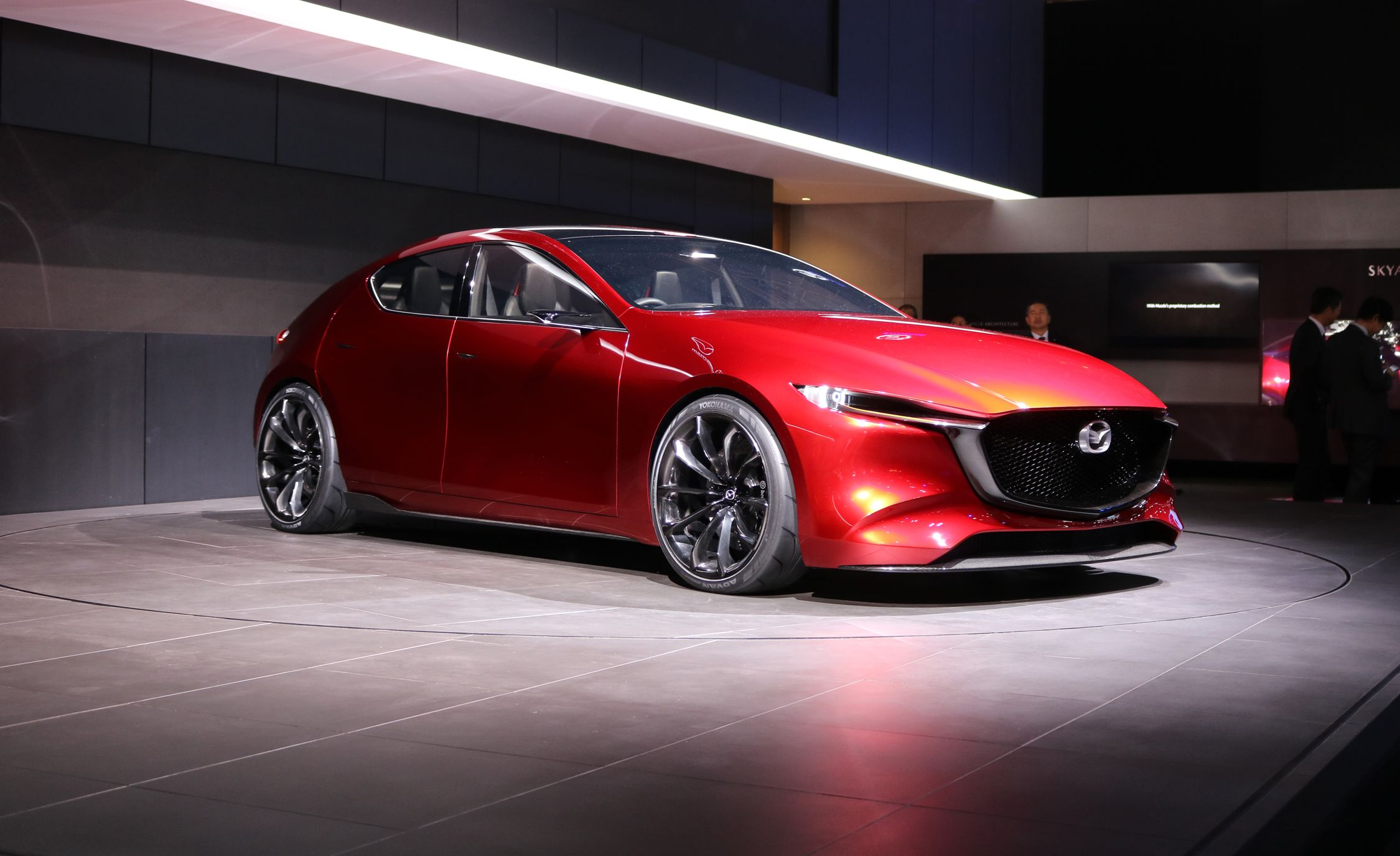 mazda kai concept photos and info