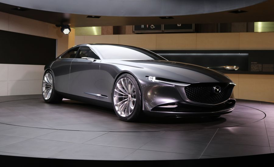 mazda vision coupe concept a gorgeous signal of aspirations news car and driver. Black Bedroom Furniture Sets. Home Design Ideas
