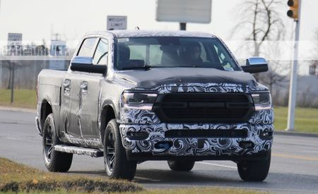 2019 Ram 1500: Nearly Shorn Light-Duty Pickup Spied!