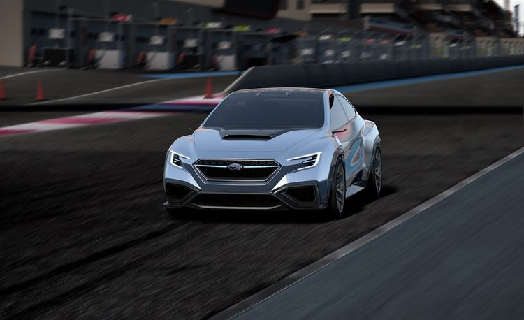 Subaru Viziv Performance Concept: Rex Is Back in Effect