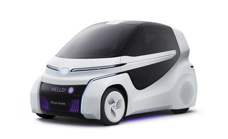 Pair of Toyota Concepts Aim to Improve Mobility for Elderly and Disabled Drivers