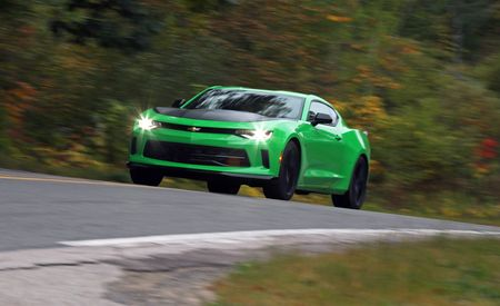 2017 Chevrolet Camaro V-6 1LE Manual