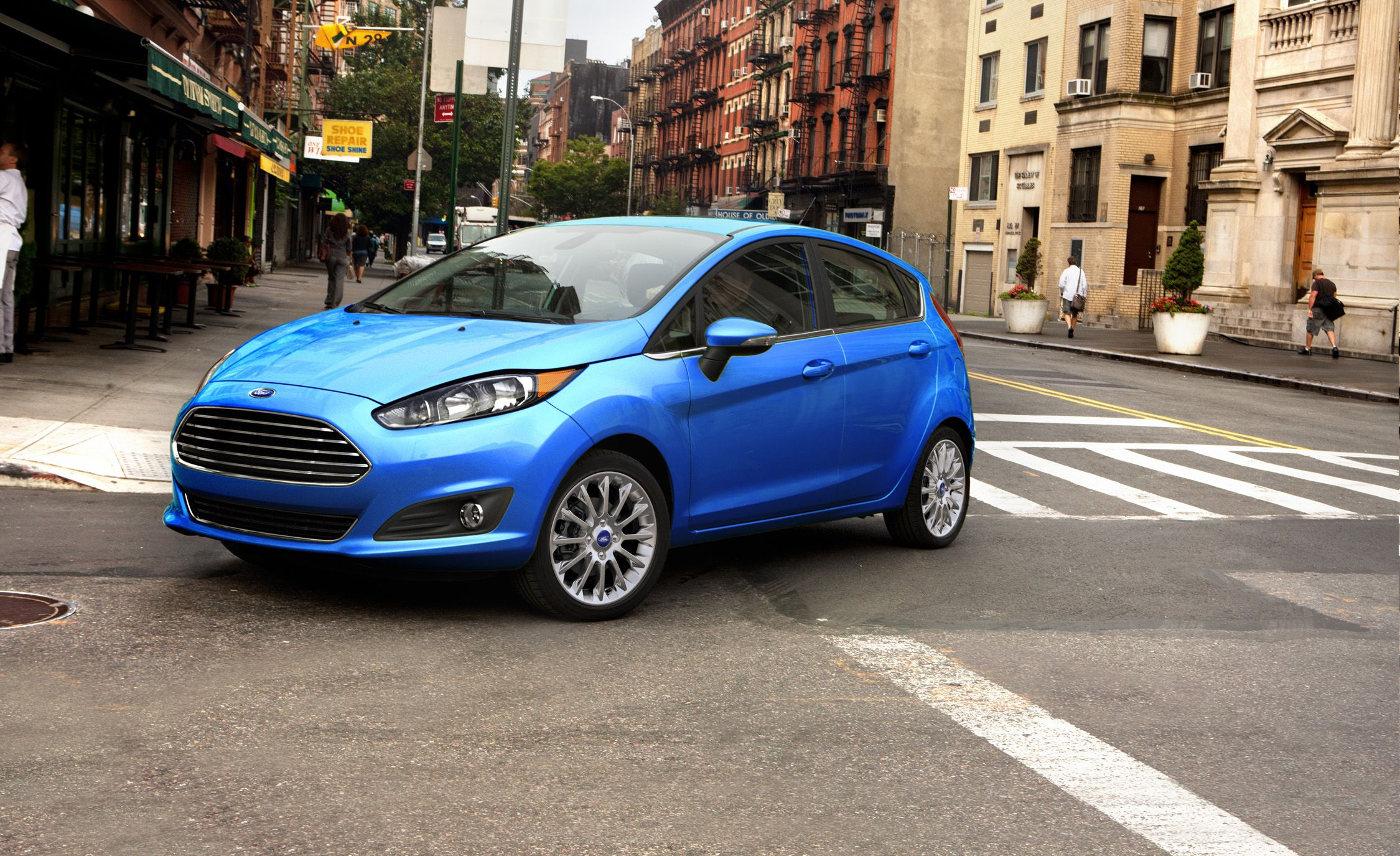 2017 ford fiesta hatchback automatic test review car and driver