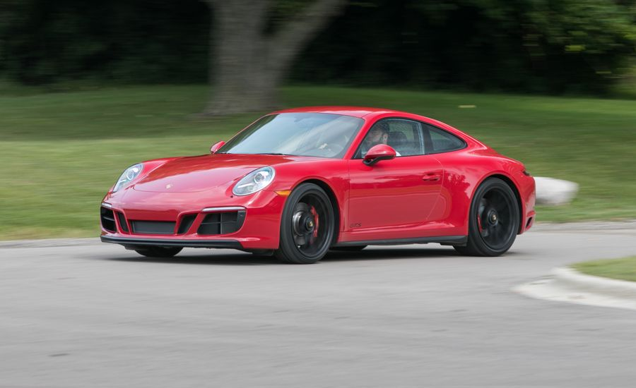 2017 Porsche 911 Carrera GTS Manual