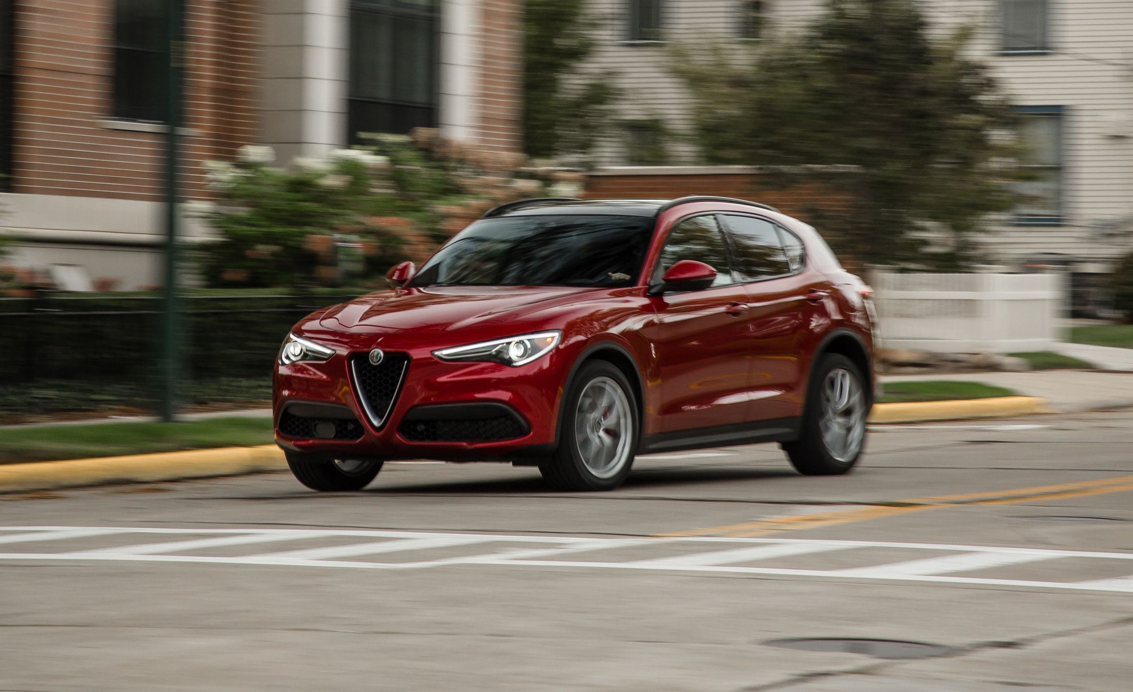 2018 Alfa Romeo Stelvio 2 0t Awd Test Review Car And