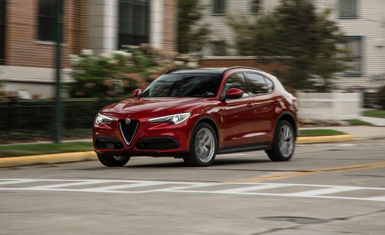 2018 Alfa Romeo Stelvio 2.0T AWD