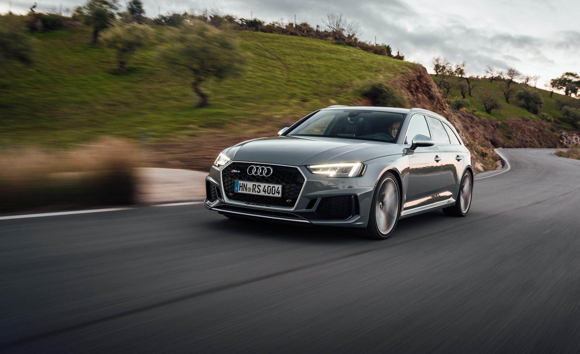 Audi RS Avant First Drive Review Car And Driver - Audi rs4