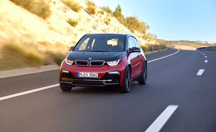 2018 bmw i3s first drive review car and driver. Black Bedroom Furniture Sets. Home Design Ideas