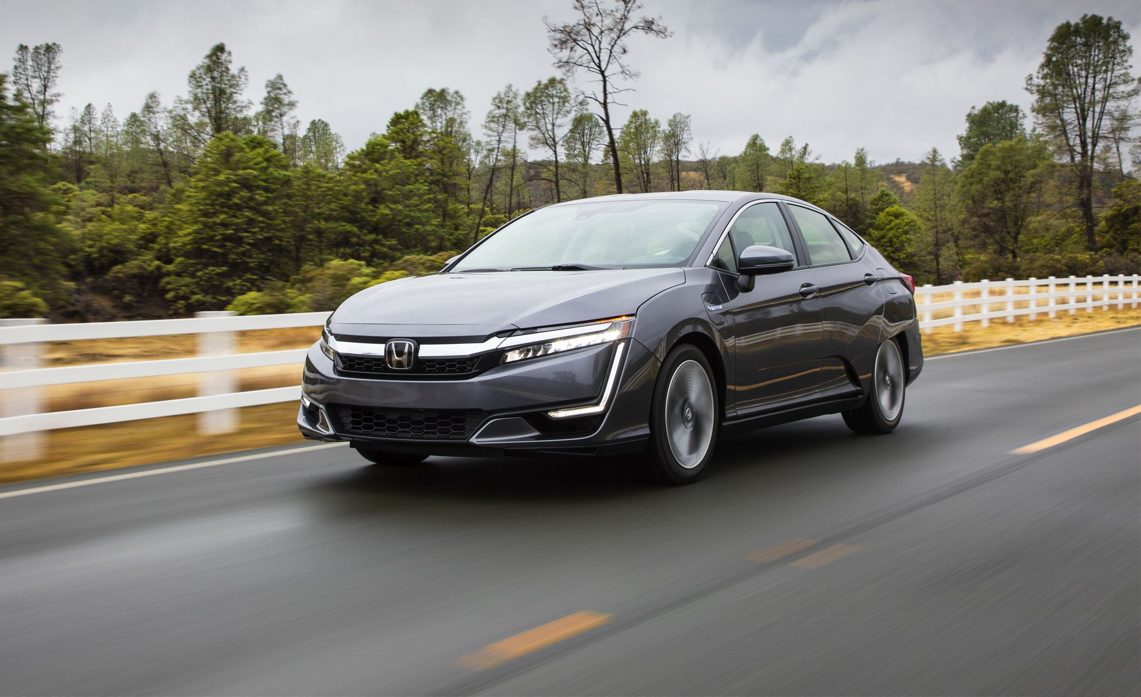 2018 Honda Clarity Plug-In Hybrid First Drive | Review ...