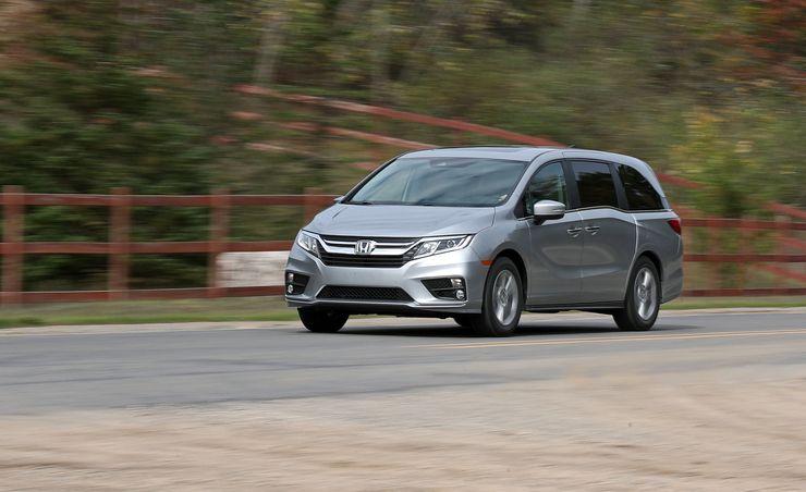 2018 Honda Odyssey Nine-Speed Automatic
