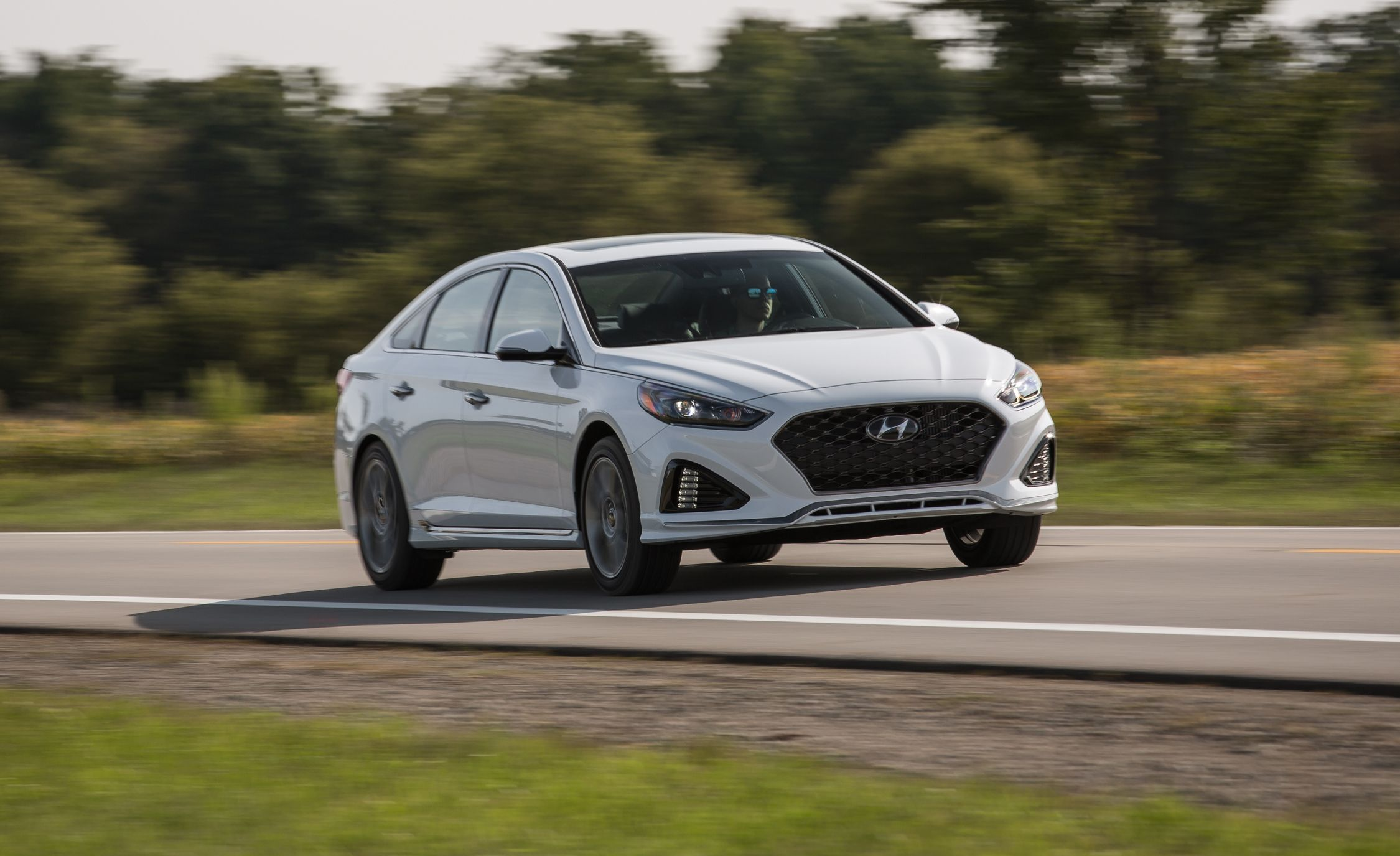 2018 Hyundai Sonata 2 0t Test Review Car And Driver