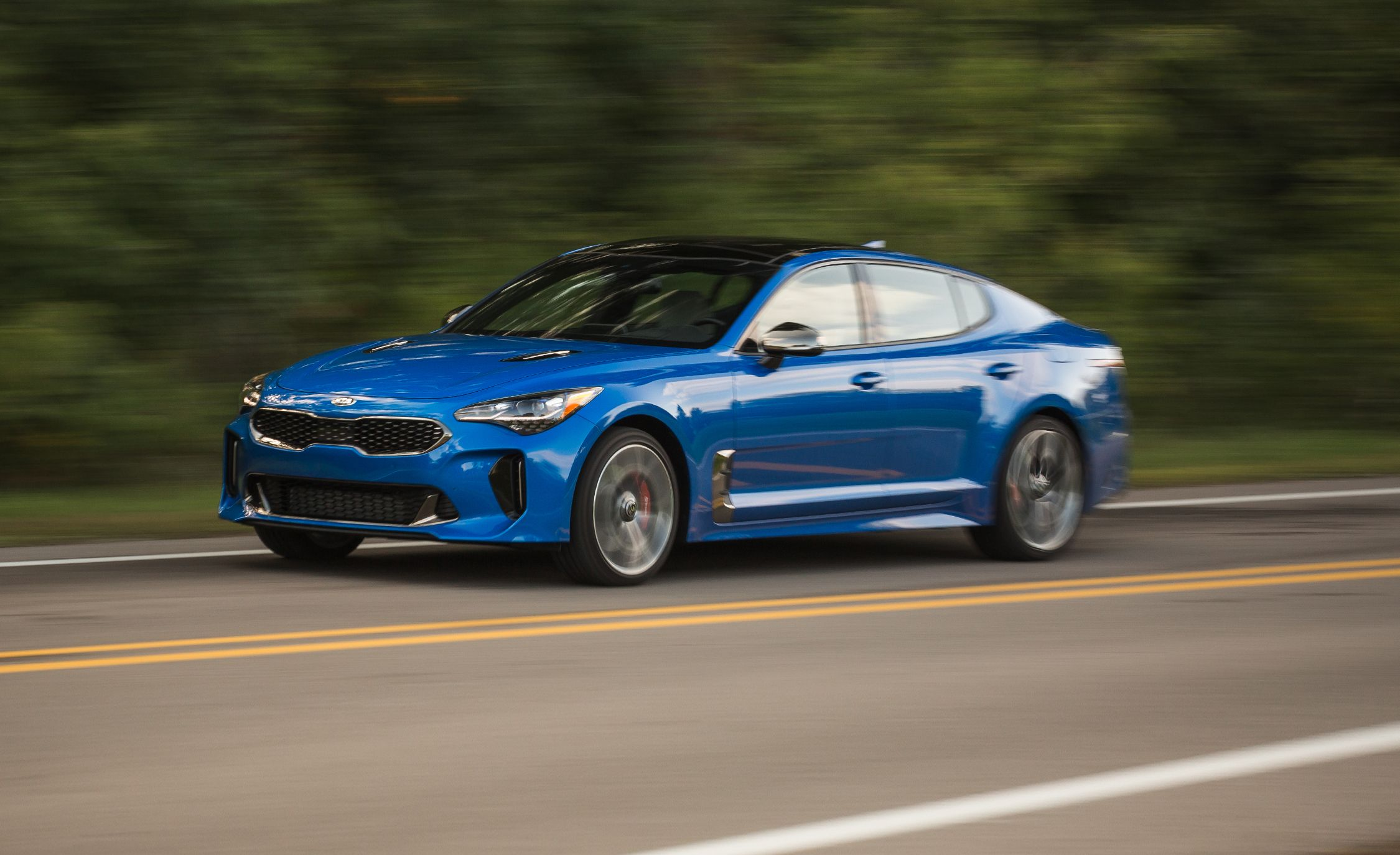 2018 Kia Stinger Gt 3 3t Awd Test Review Car And Driver