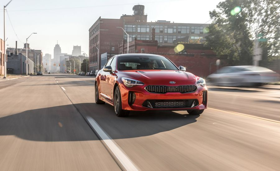 2018 Kia Stinger Gt Test Review Car And Driver