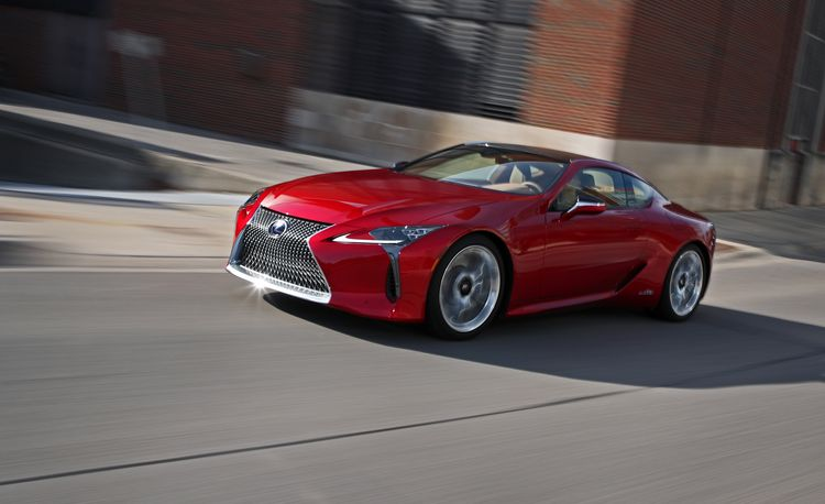 2018 Lexus LC500h Hybrid