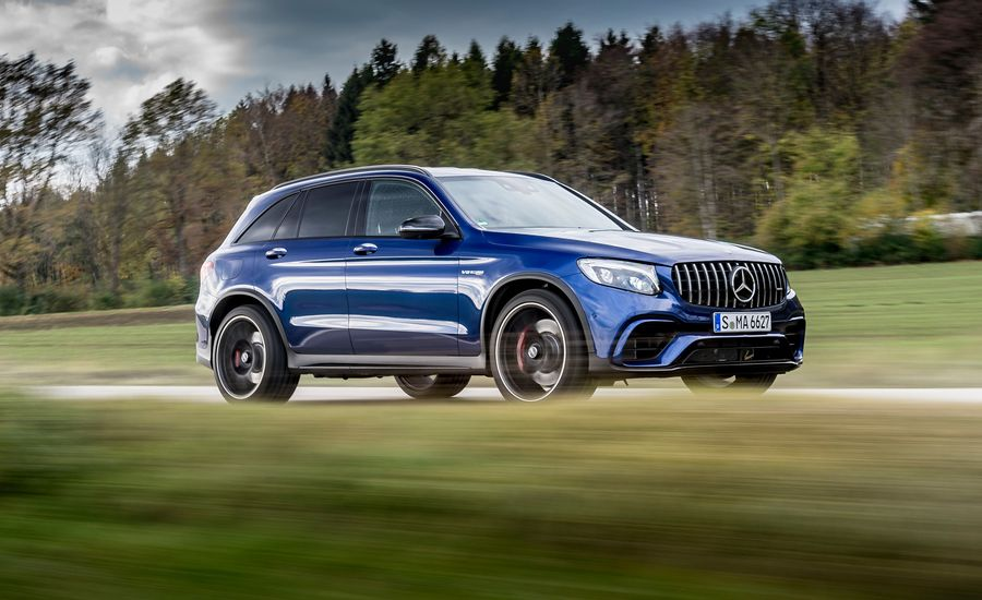2018 mercedes amg glc63 first drive review car and driver for Embrace by mercedes benz