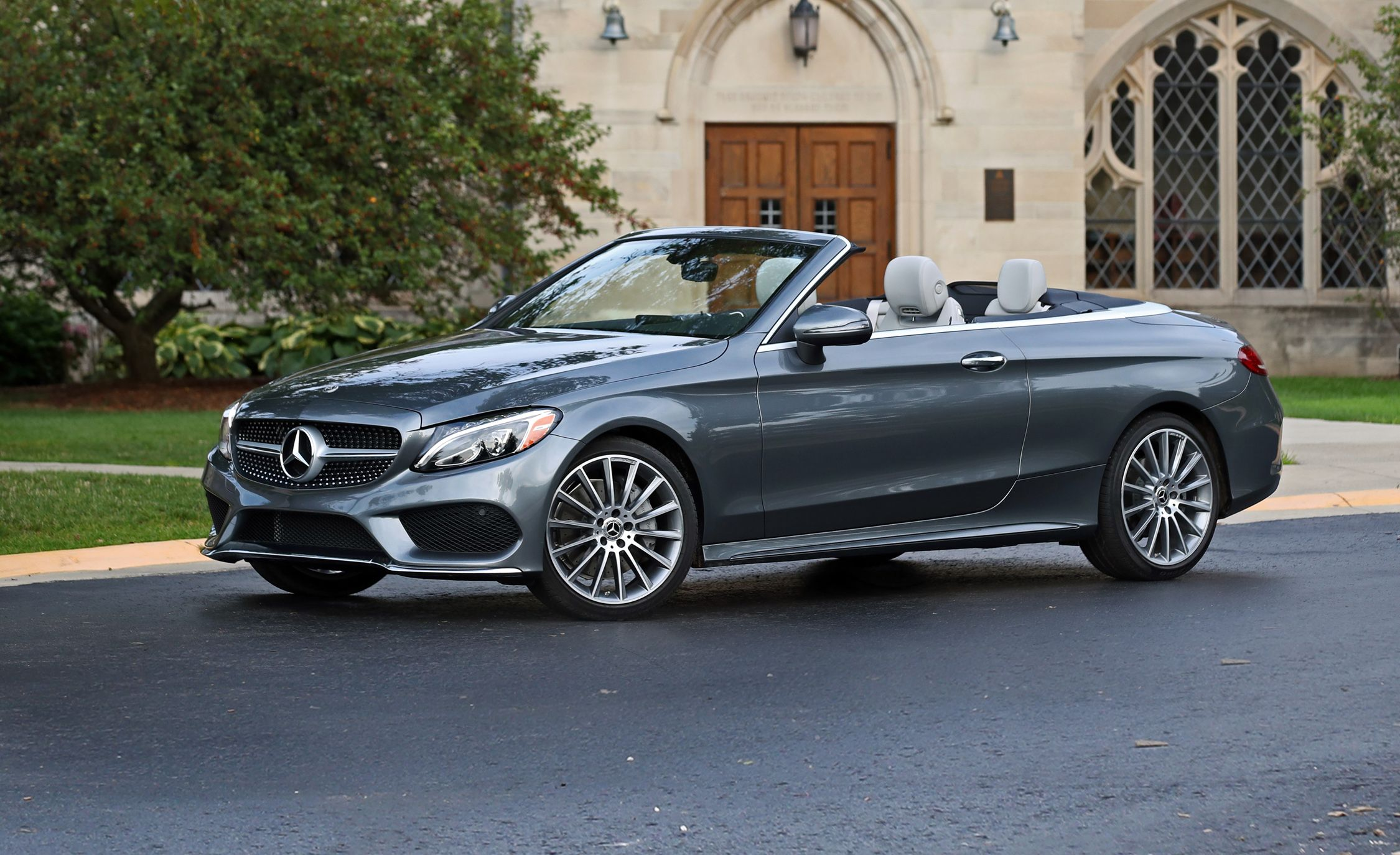 Review 300c Luxury >> 2018 Mercedes-Benz C300 Cabriolet Test   Review   Car and Driver