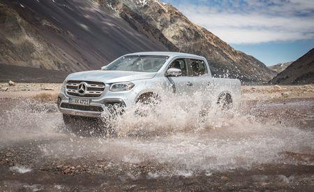 2018 Mercedes-Benz X-class Pickup