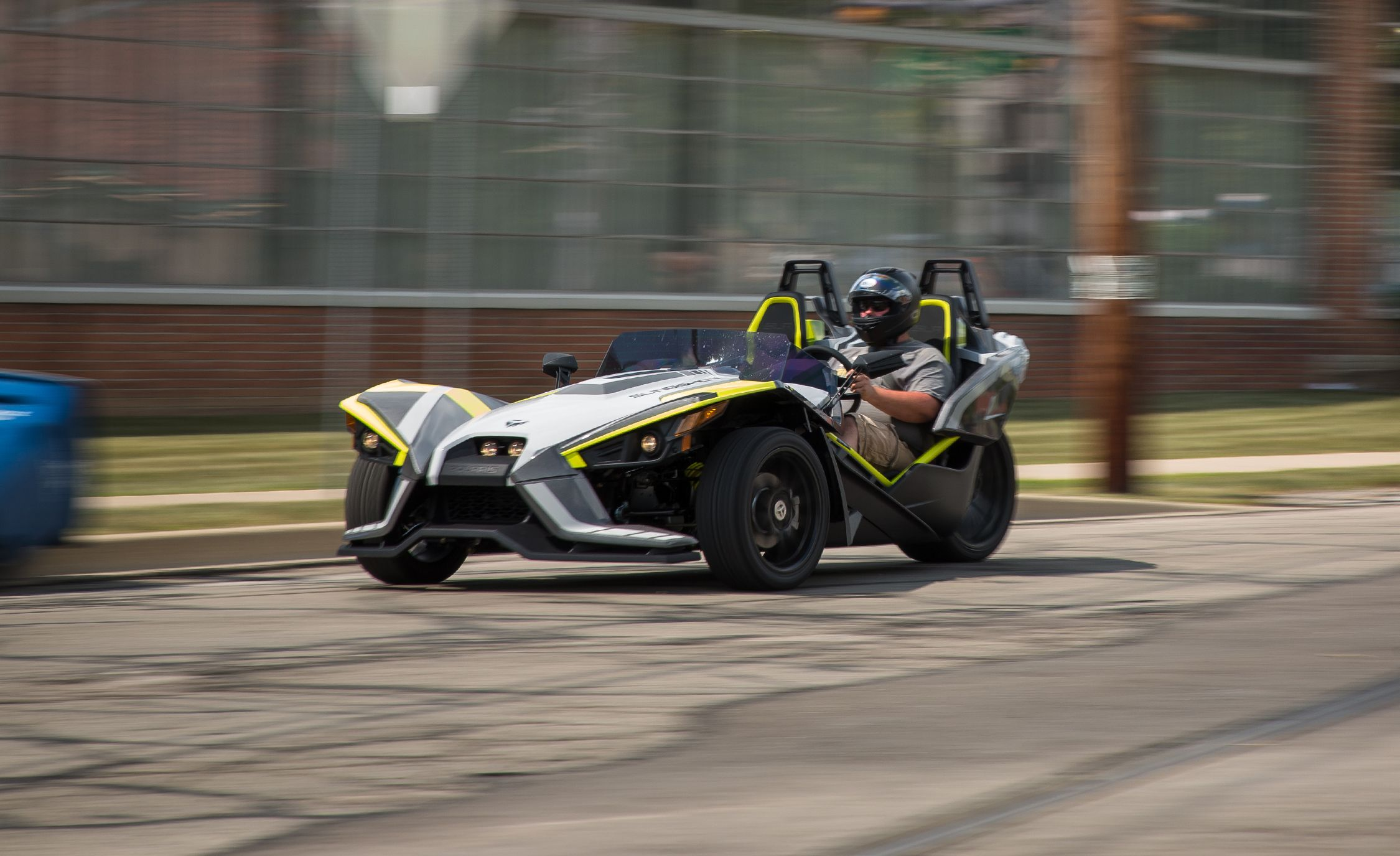 2018 Polaris Slingshot Test Review Car And Driver