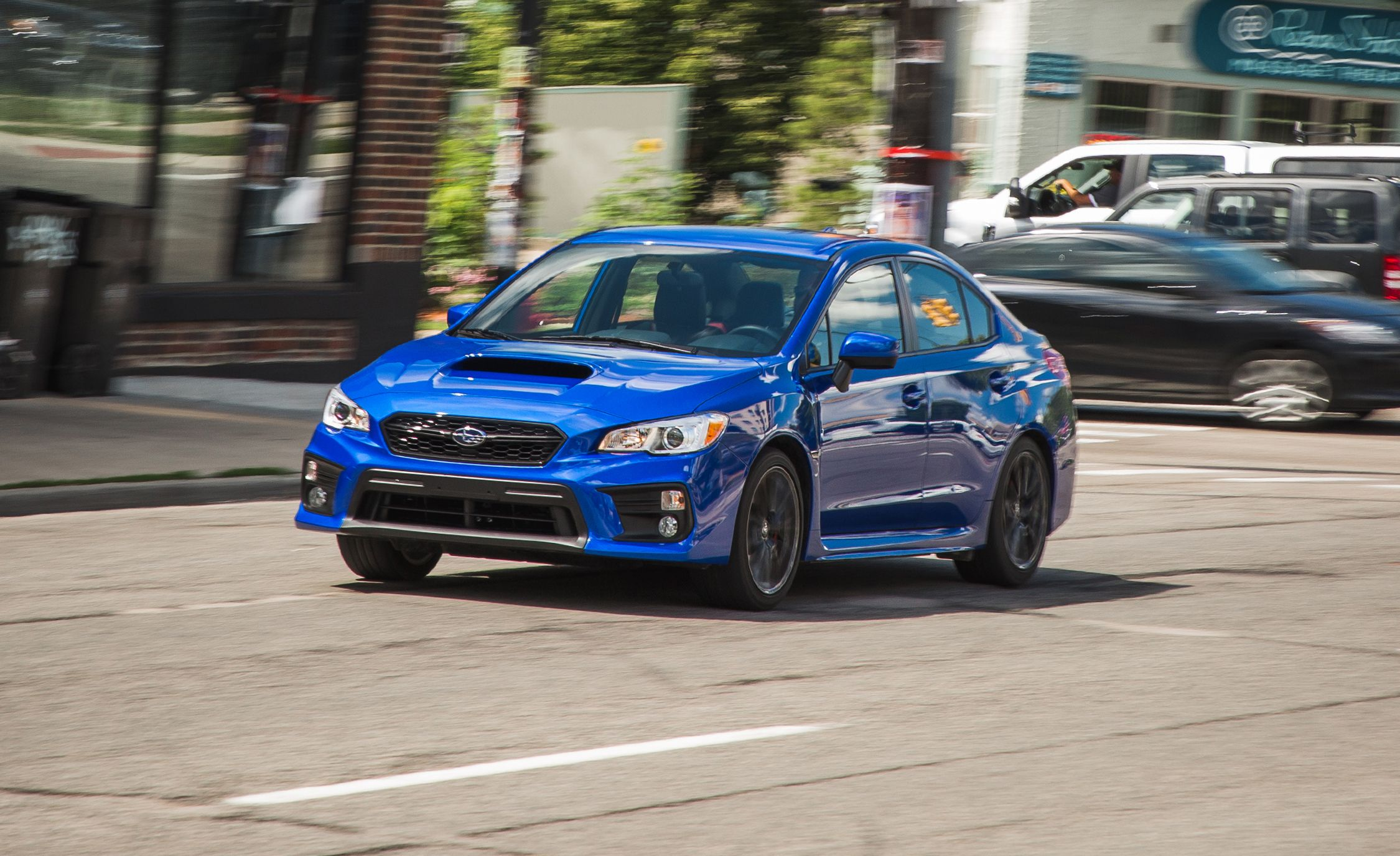 Subaru Wrx Sti Global Rallycross Car First Drive Review And Driver