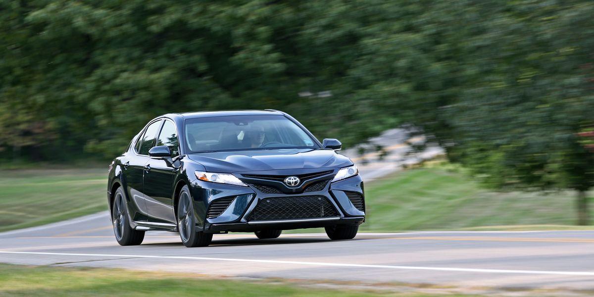 2018 Toyota Camry XSE V-6 Test