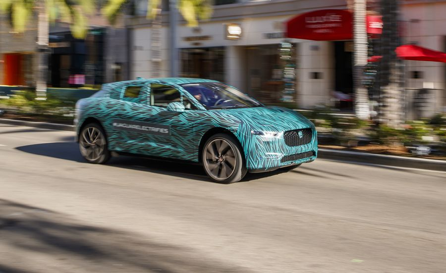 2019 Jaguar I-Pace Electric SUV Prototype Ride | Review | Car and Driver