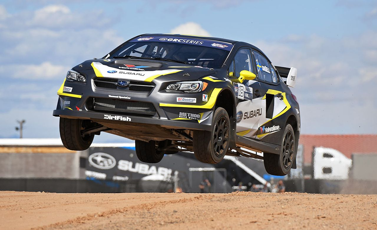 Subaru WRX STI Global Rallycross Car First Drive | Review | Car and ...