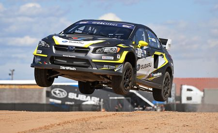 Behind the Wheel of Subaru's WRX STI Global Rallycross Car