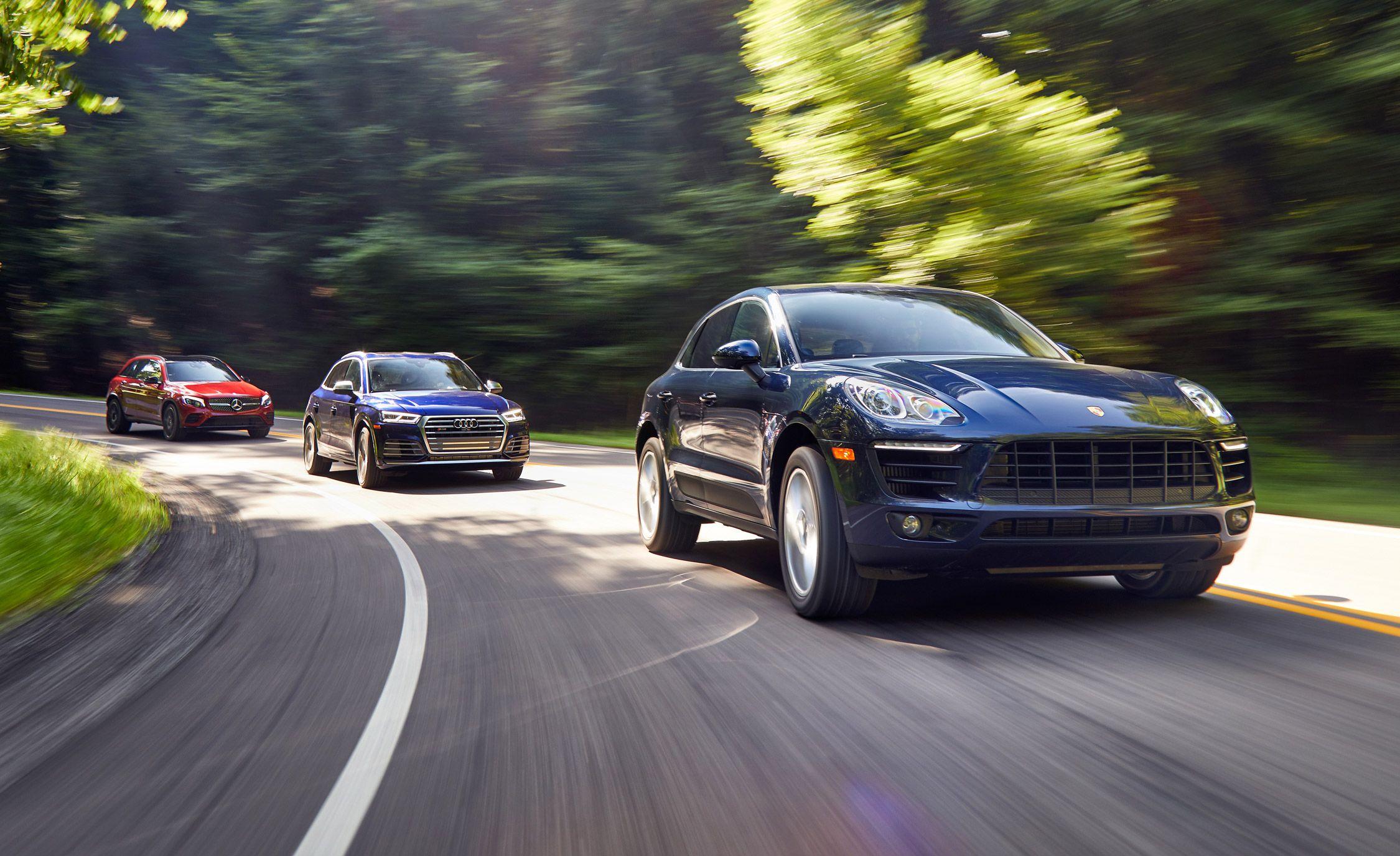 Porsche macan comparison