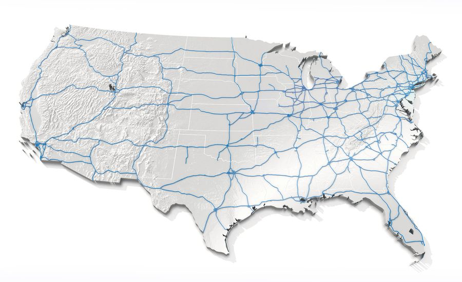 Fast Facts: The 47,000-Plus-Mile U.S. Interstate System