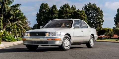 Luxury Japan Style Revisiting The Original Lexus Ls400 Feature