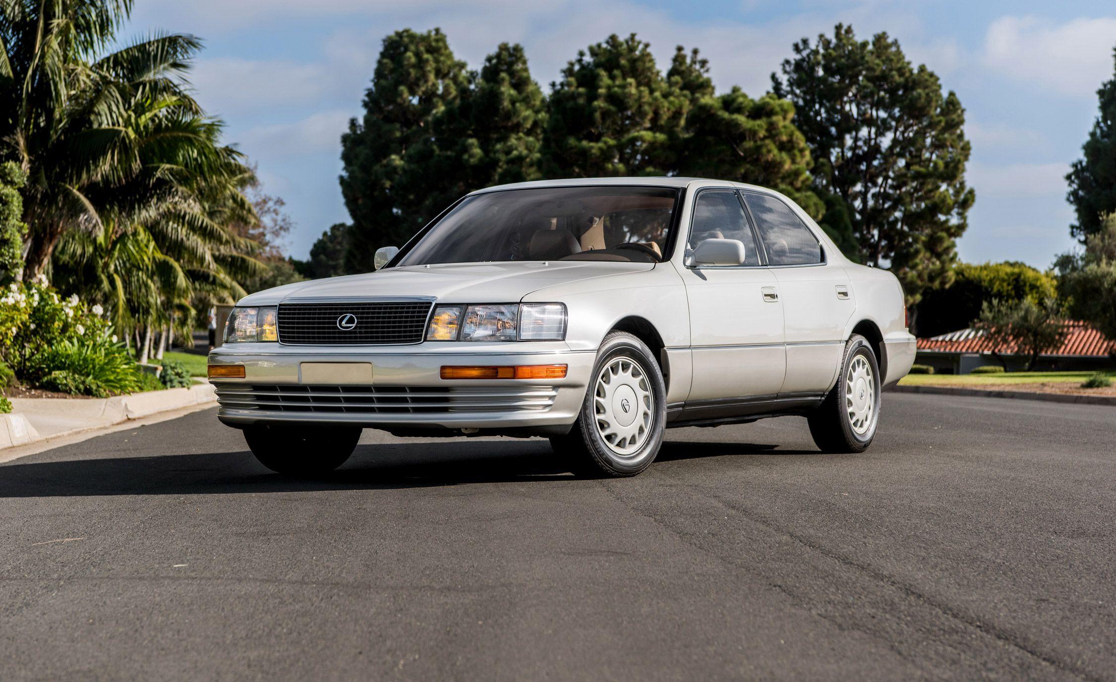 Luxury, Japan-Style: Revisiting the Original Lexus LS400
