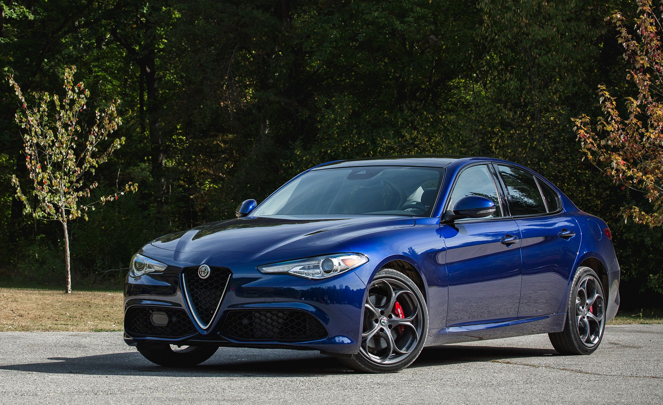 2018 Alfa Romeo Giulia Quadrifoglio 10K Mile Update Awaiting Repairs