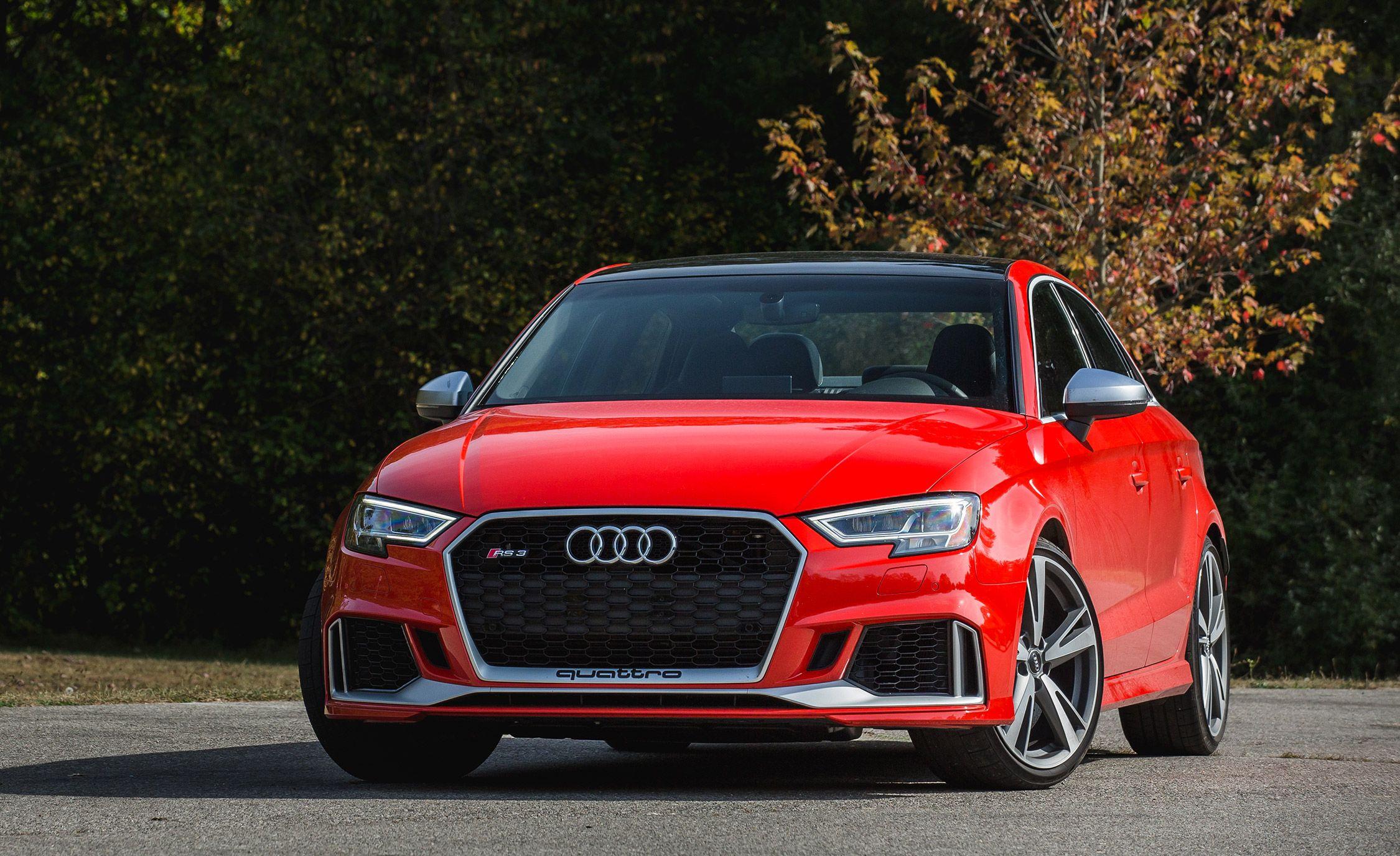 Tesla Model Performance Accelerative Excellence - Audi rs3