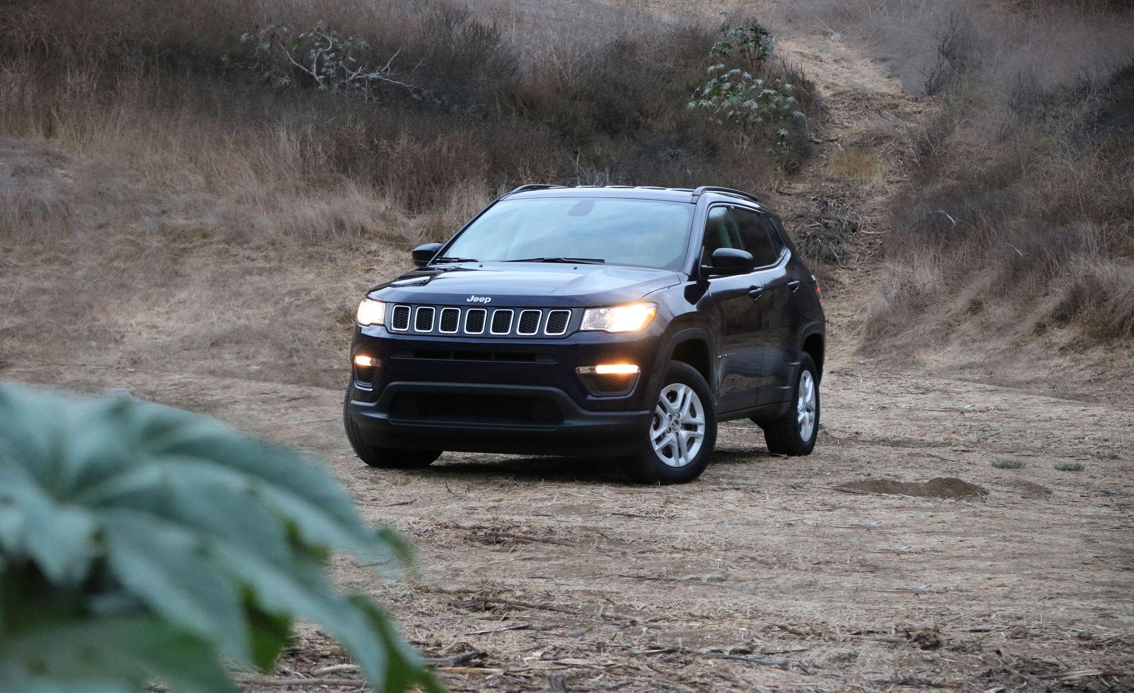 2017 Jeep Compass 4x4 Manual