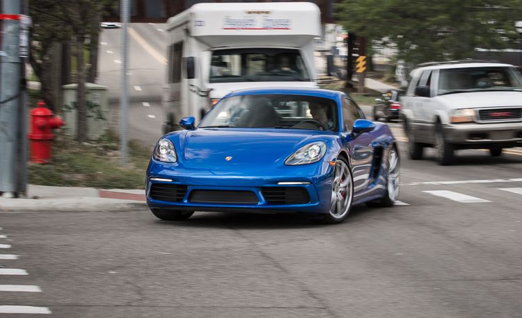 2017 Porsche 718 Cayman S Manual