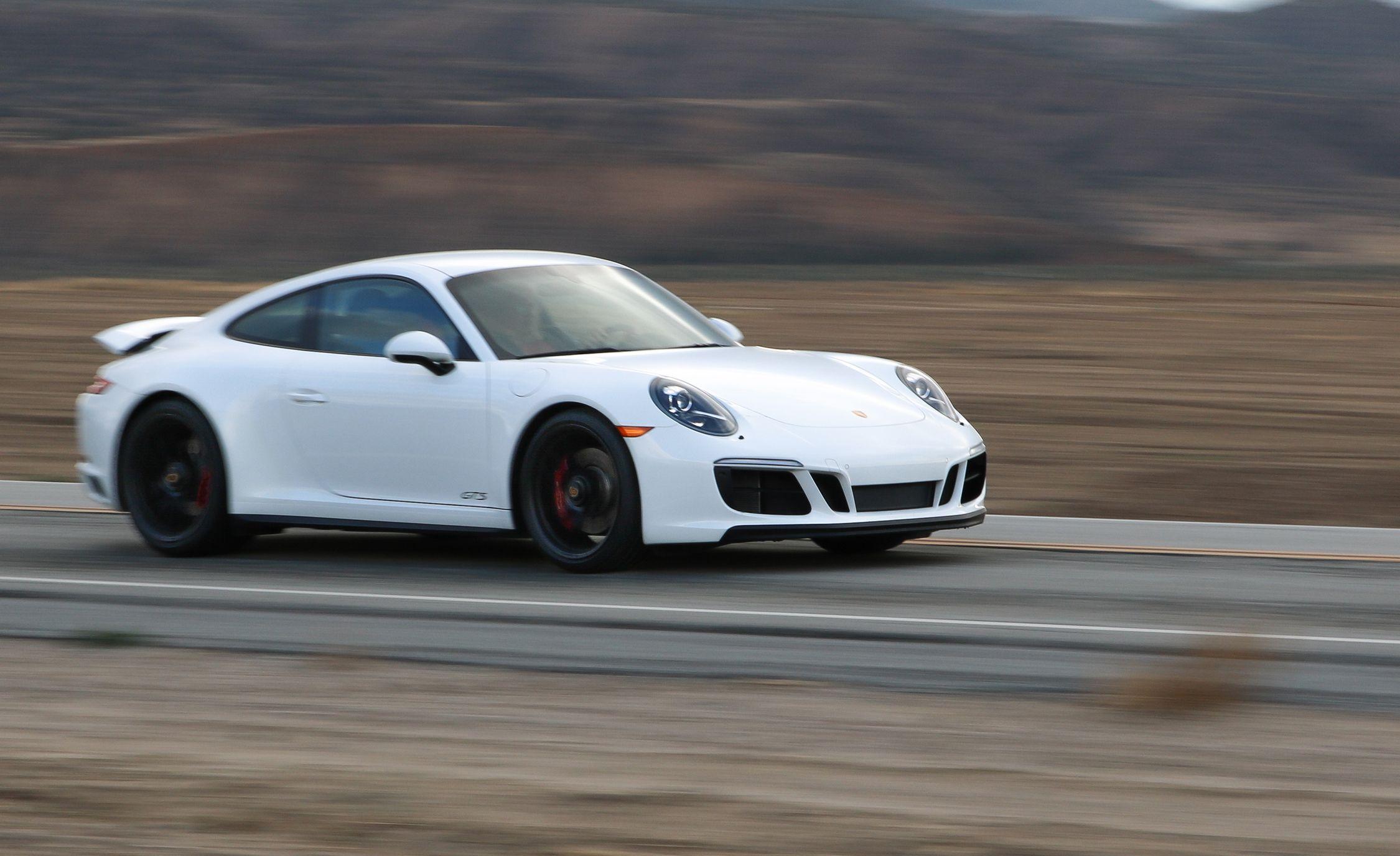 2017 Porsche 911 Carrera 4 GTS Manual