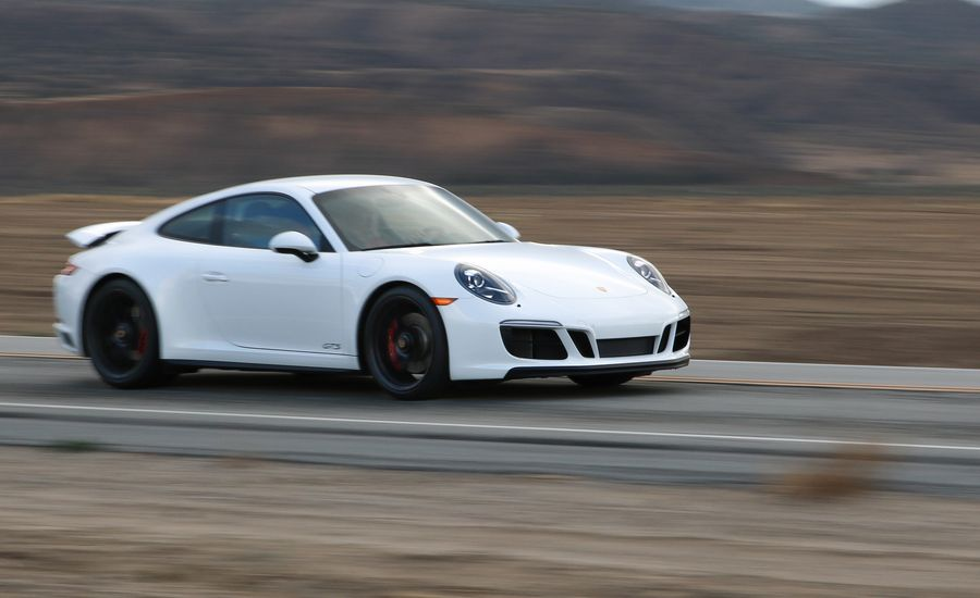 2017 Porsche 911 Carrera 4 Gts Manual