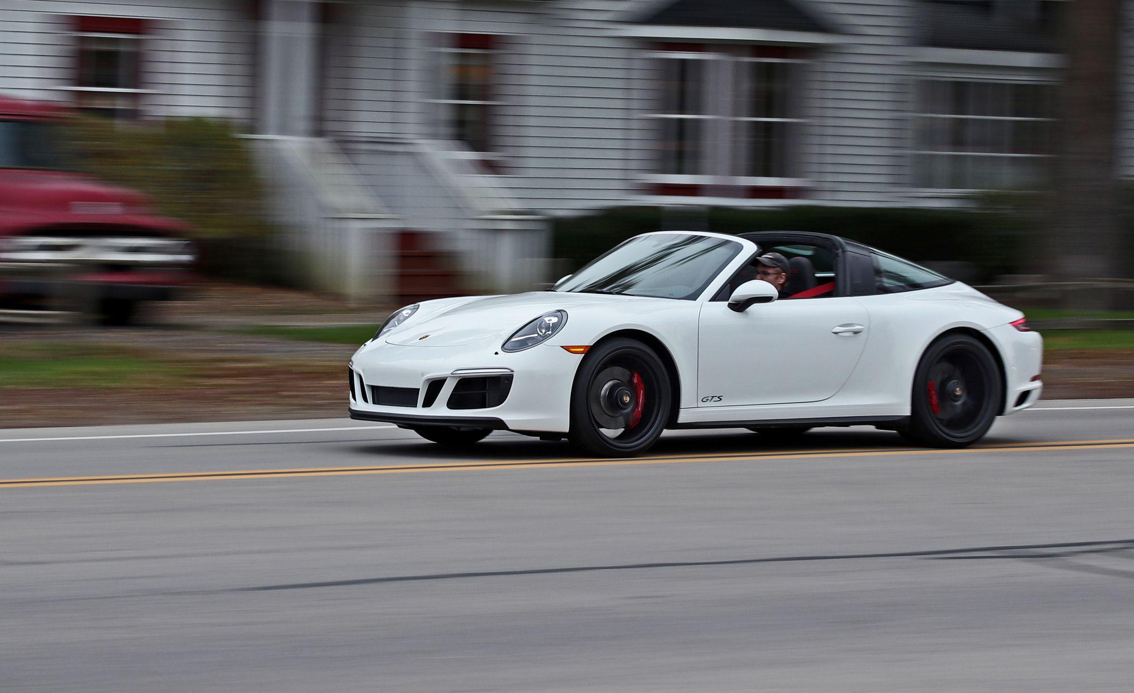 2017 Porsche 911 Targa 4 Gts Pdk Automatic Test Review Car And Driver