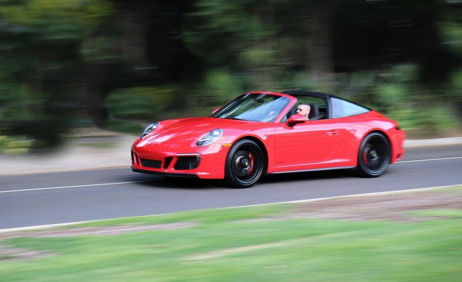 2017 porsche 911 targa 4 gts pdk automatic test review car and driver. Black Bedroom Furniture Sets. Home Design Ideas