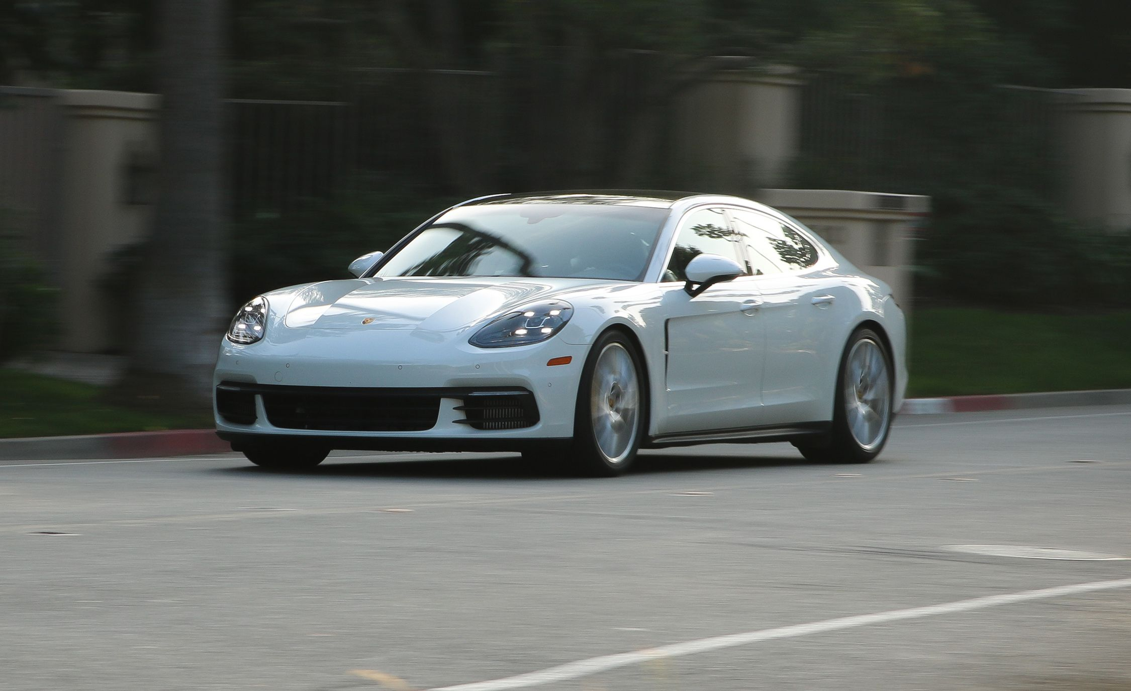 2020 Porsche Panamera Reviews Price Photos And Specs Car Driver