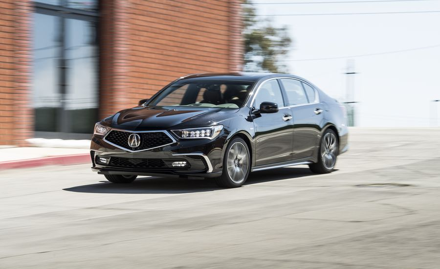 2018 Acura Rlx Sport Hybrid Sh Awd Test Review Car And Driver